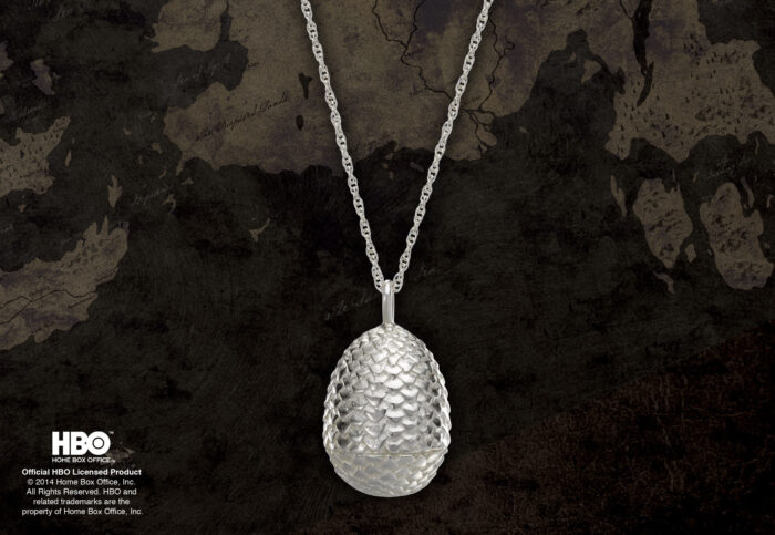 Dragon Egg Pendant Sterling Silver