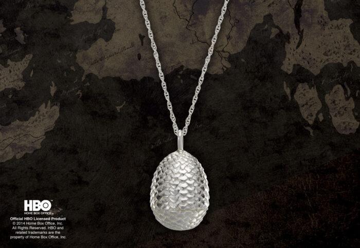 Dragon Egg Pendant Sterling Silver
