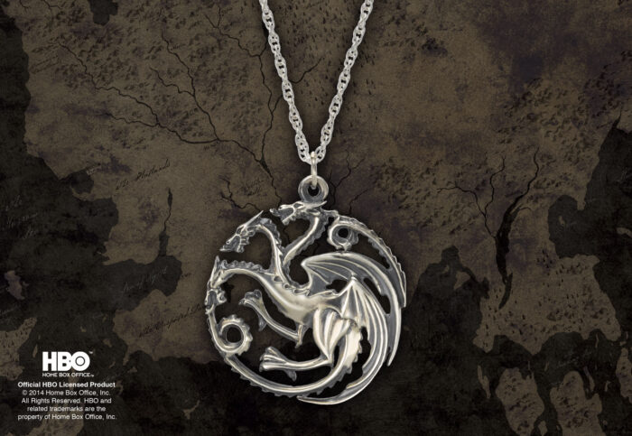 Targaryen Pendant Sterling Silver