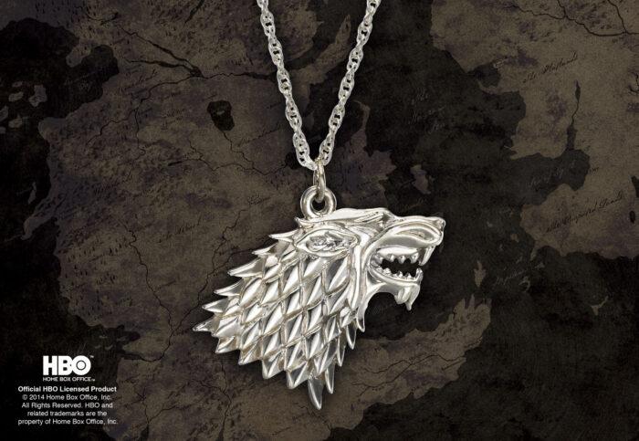 Stark Pendant Sterling Silver