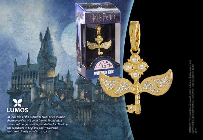 Lumos Charm 12 Winged Key