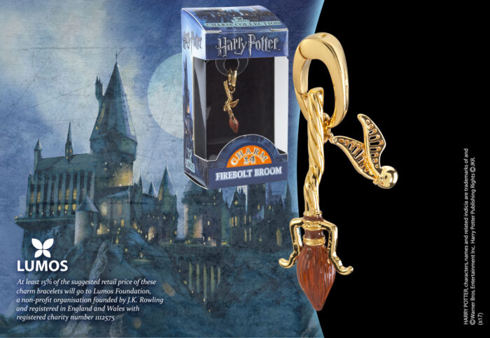 Lumos Charm 14 Firebolt Broom