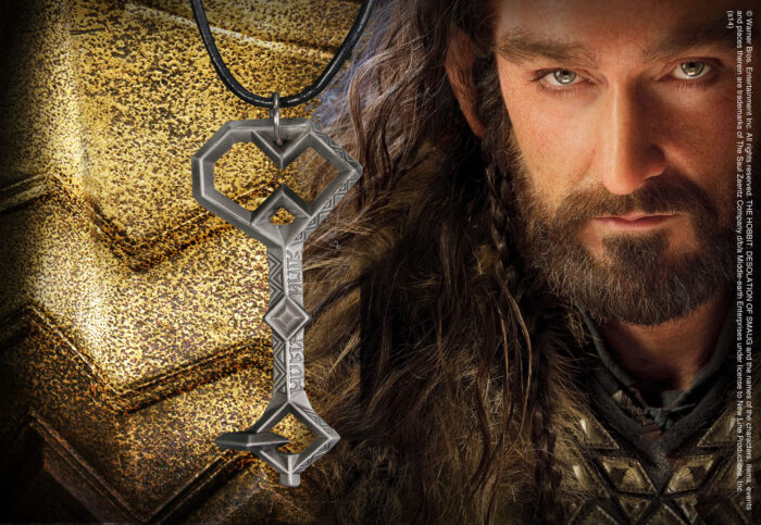 Thorin's Key Leather Pendant