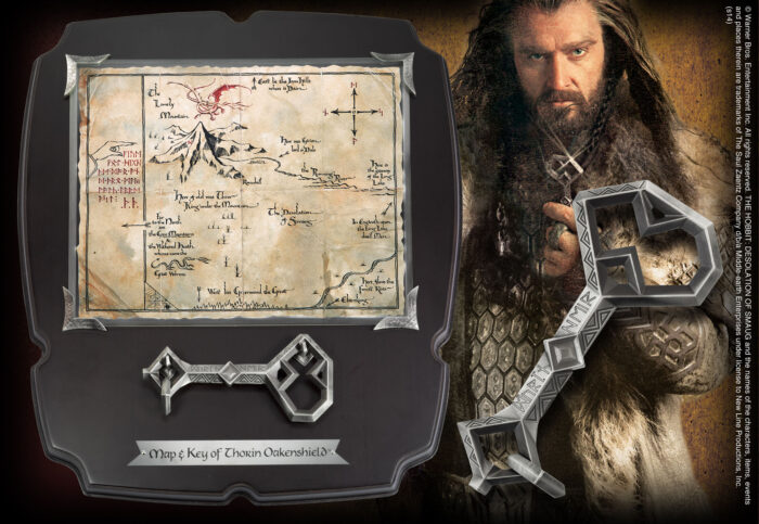 Thorin's Map & Key - Large