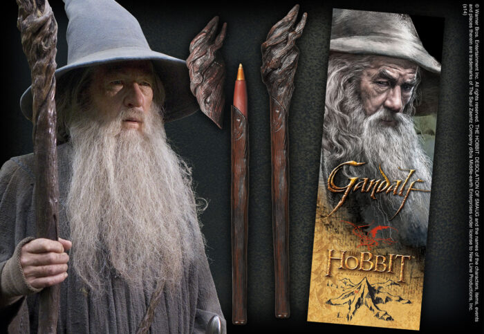 Gandalf Staff Pen and Lenticular Bookmark