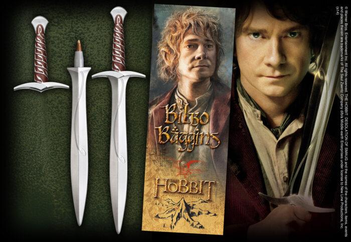 Sting Sword Pen and Lenticular  Bookmark