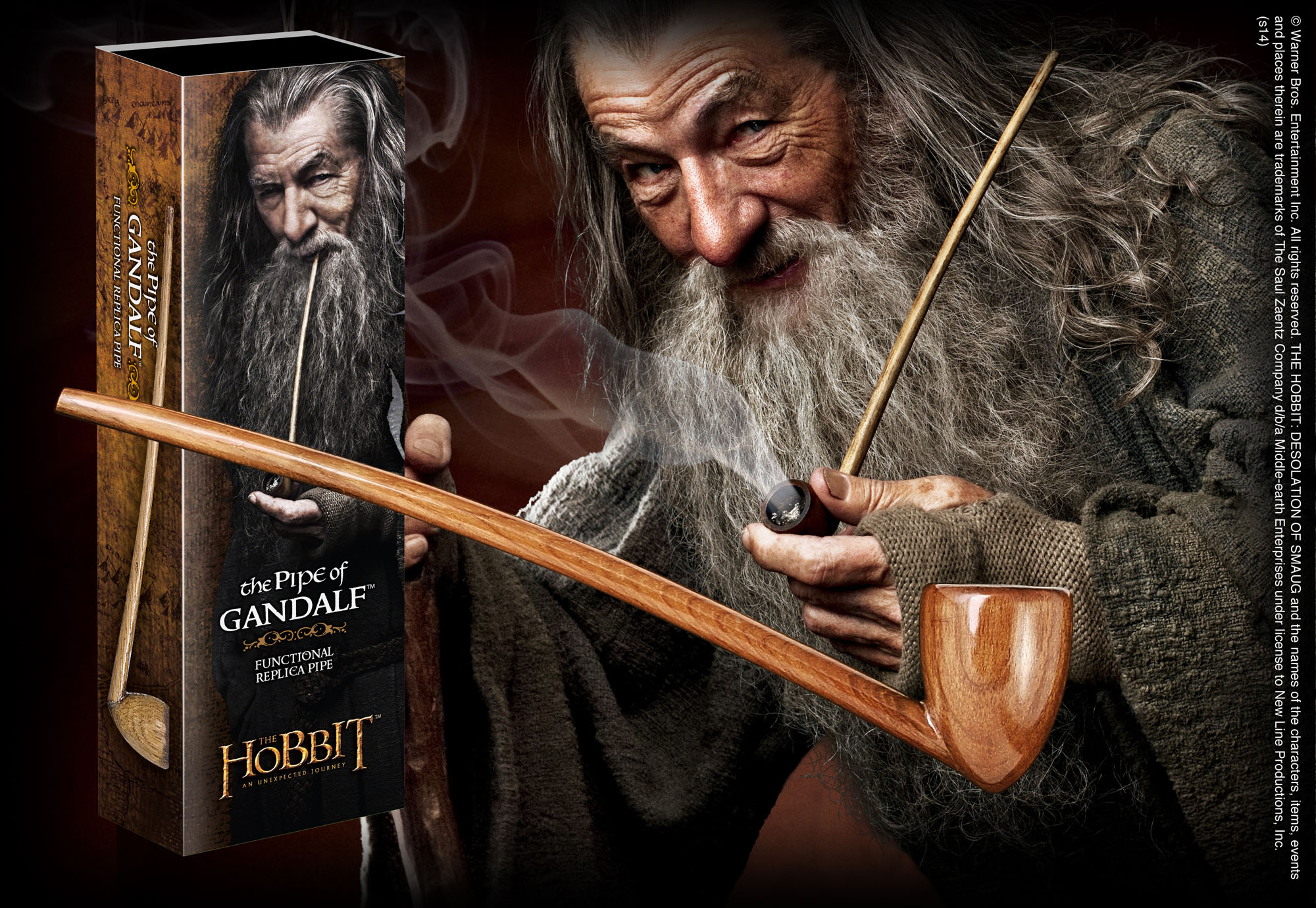 Gandalf Pipe The Noble Collection Uk