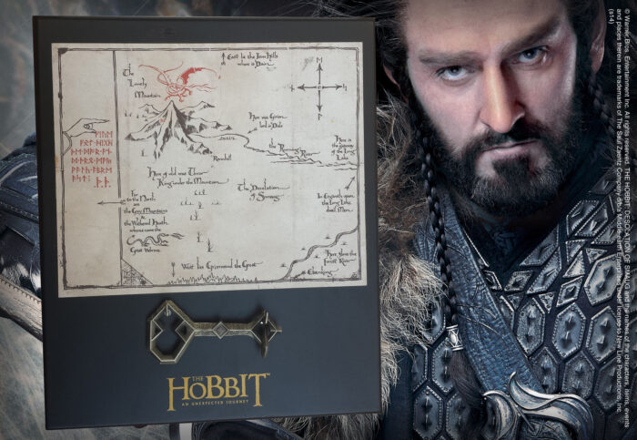 Thorin Map & Key - Small