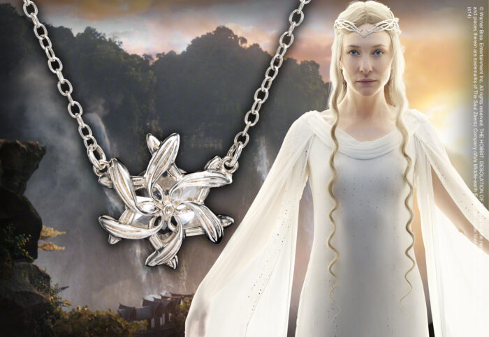 Galadriel Ring Pendant Sterling Silver