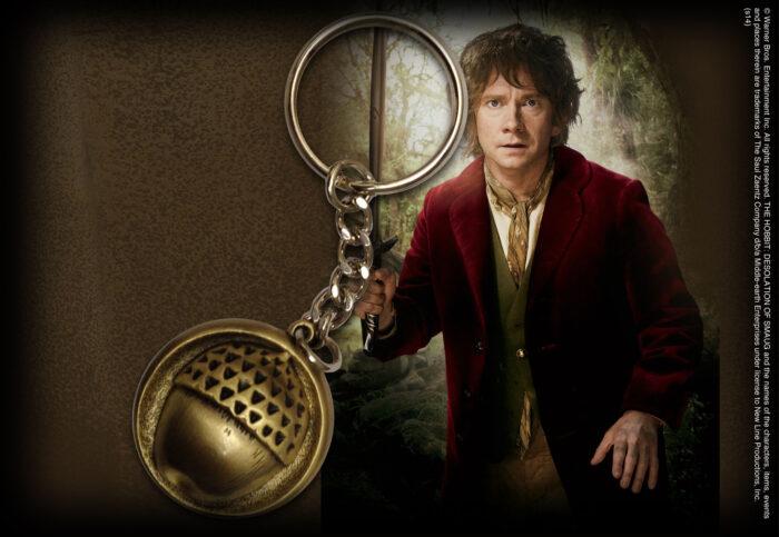 Bilbo Button Keychain