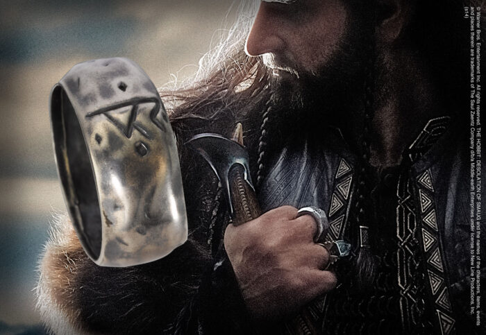 Thorin Silver Rune Ring