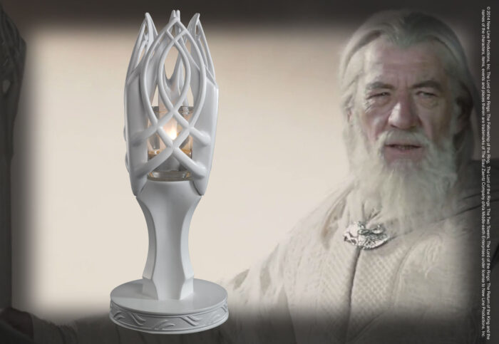 The Staff of Gandalf the White Candle Holder