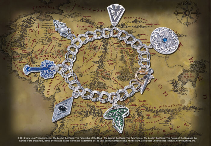Middle Earth Charm Bracelet