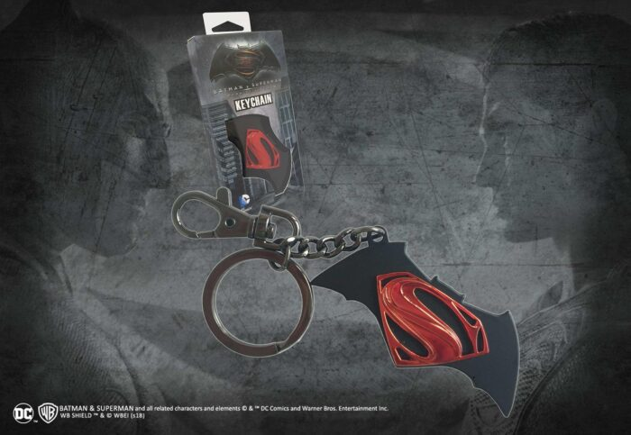 Batman vs Superman Logo Key Chain