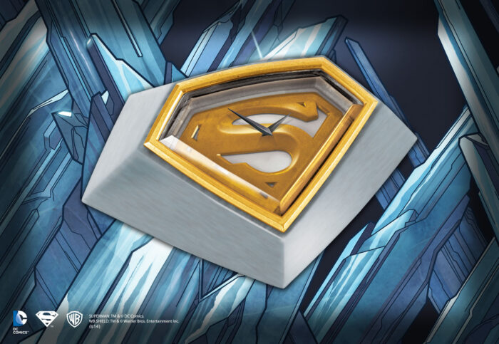 Superman Returns Desk Clock