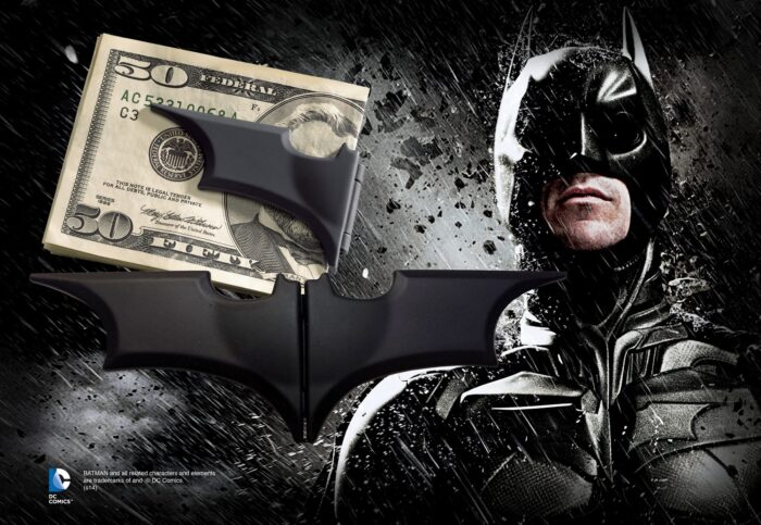 Batarang Folding Money Clip - Black