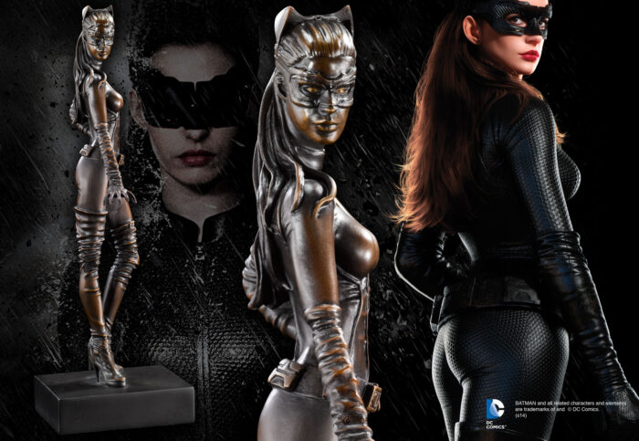 Catwoman Bronze Sculpture