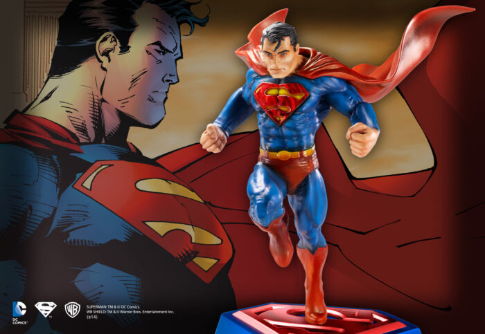 Superman Comic Book Edition Sculpture