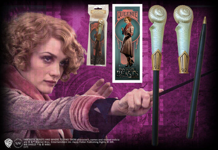 Queenie Goldstein Wand Pen and Bookmark