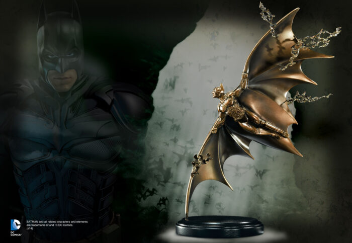 Batman Begins Bronze Gliding Sculpture