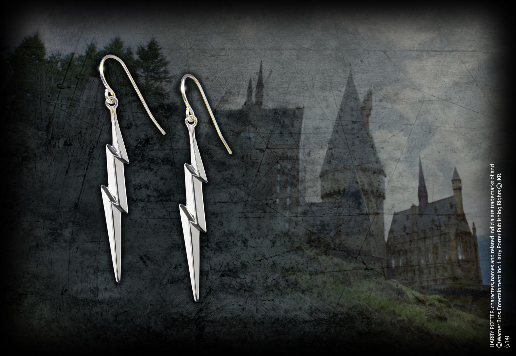 9da22a650 Lightning Bolt Earrings — The Noble Collection UK