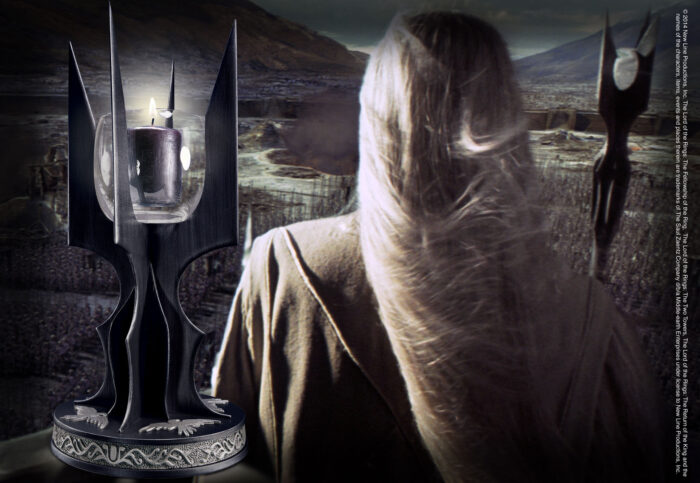 The Staff of Saruman Candle Holder