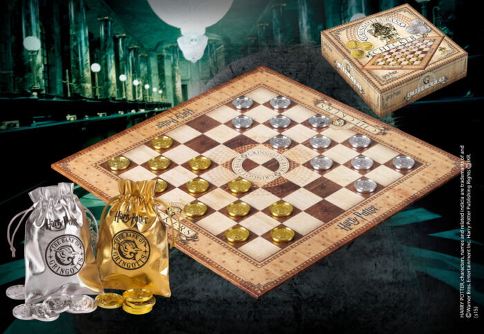 Gringotts Checker Set