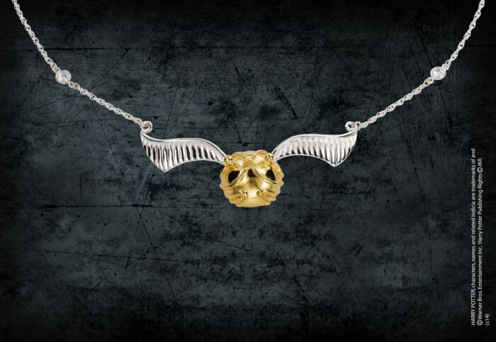 The Golden Snitch Necklace