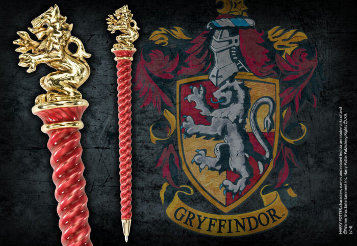 Gryffindor Pen Gold Plated