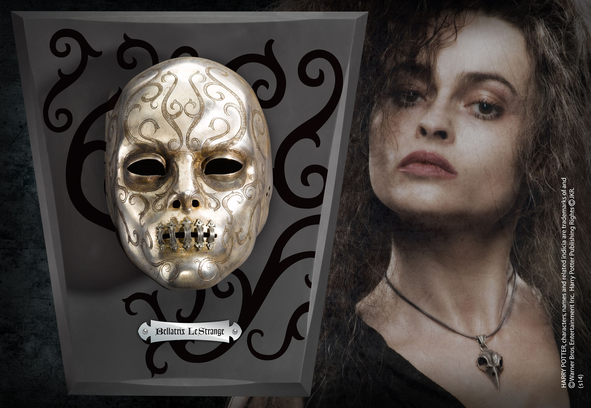 Bellatrix Mask The Noble Collection Uk