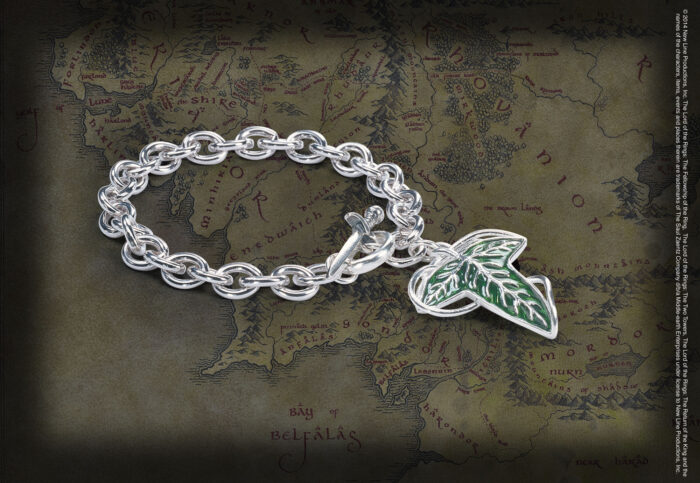 Elven Brooch Charm Bracelet