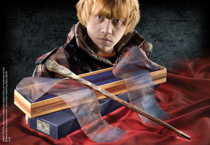 Ron Weasley Wand in Ollivanders Box