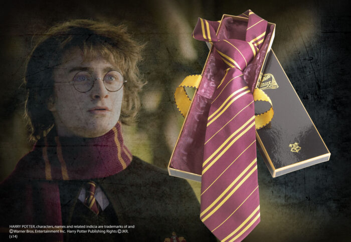 Gryffindor House Tie in Madam Malkin's Box
