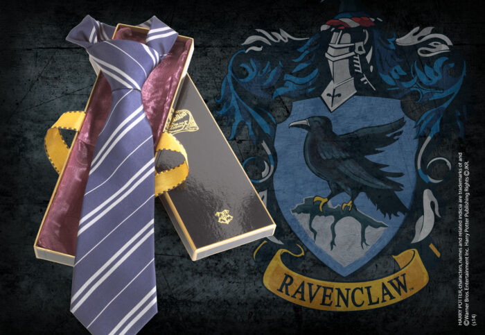 Ravenclaw House Tie in Madam Malkin's Box