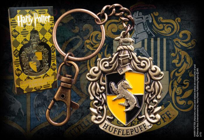 Hufflepuff Crest Keychain