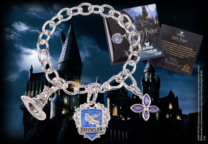 Lumos Ravenclaw Charm Bracelet