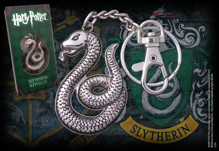 Slytherin Shaped Keychain