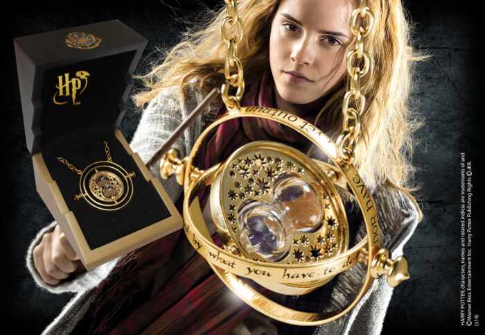 Time Turner - Gold Plated Sterling Silver