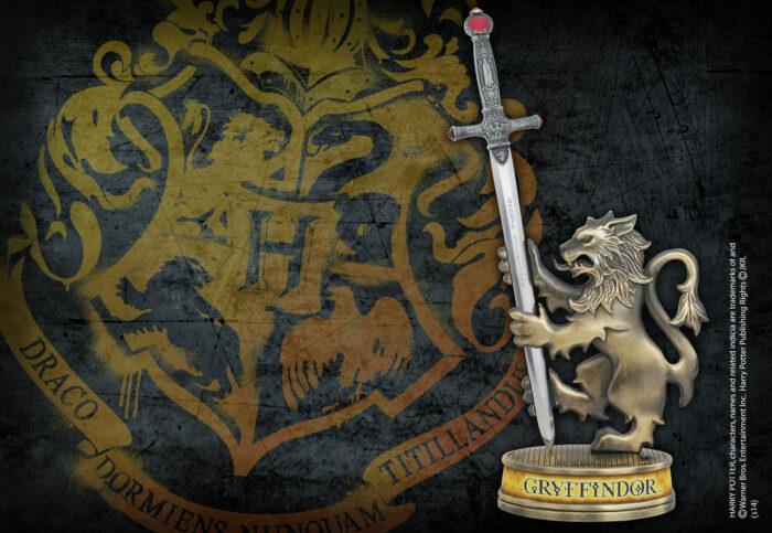 Gryffindor Sword Letter Opener with Stand