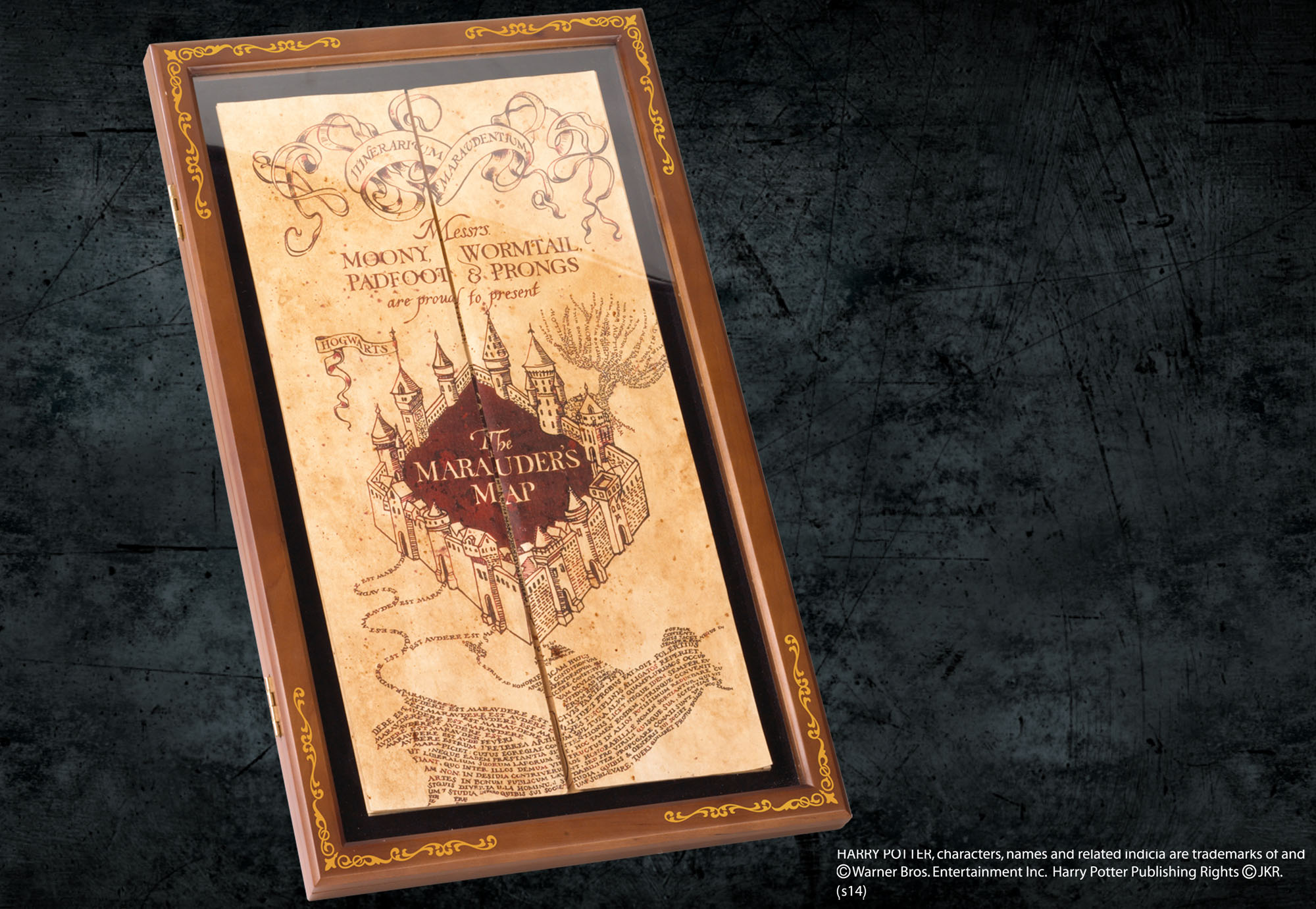 Marauder's Map Display Case — The Noble Collection UK on