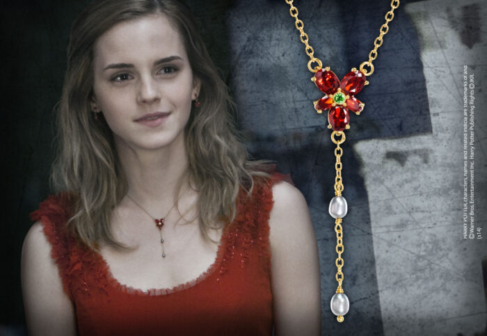 Hermione Red Crystal Necklace