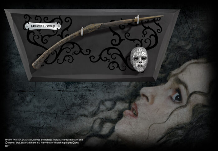 Bellatrix Lestrange's Wand and Display