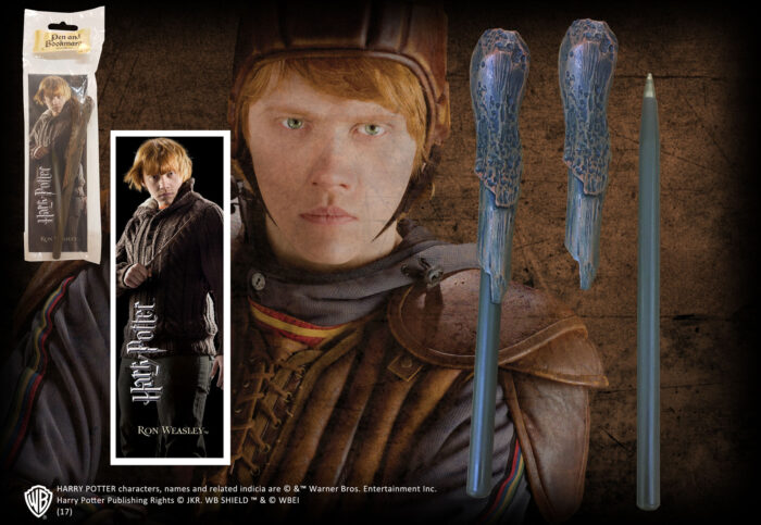 Ron Weasley Wand Pen and Bookmark