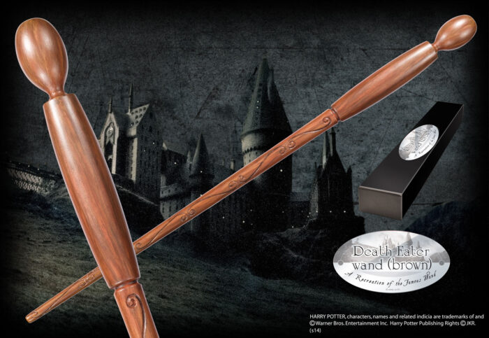 Death Eater Character Wand - Brown
