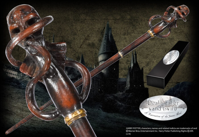 Death Eater Character Wand - Swirl