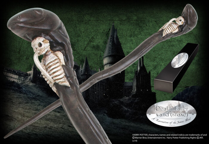 Death Eater Character Wand - Snake