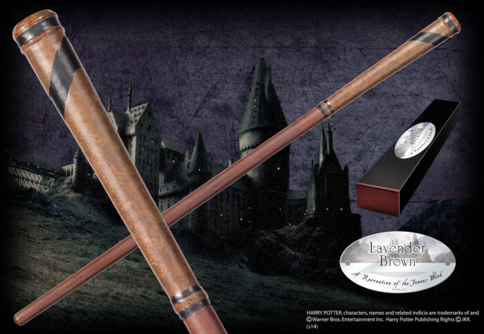 Lavender Brown Character Wand
