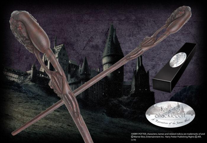 Kingsley Shacklebolt Character Wand