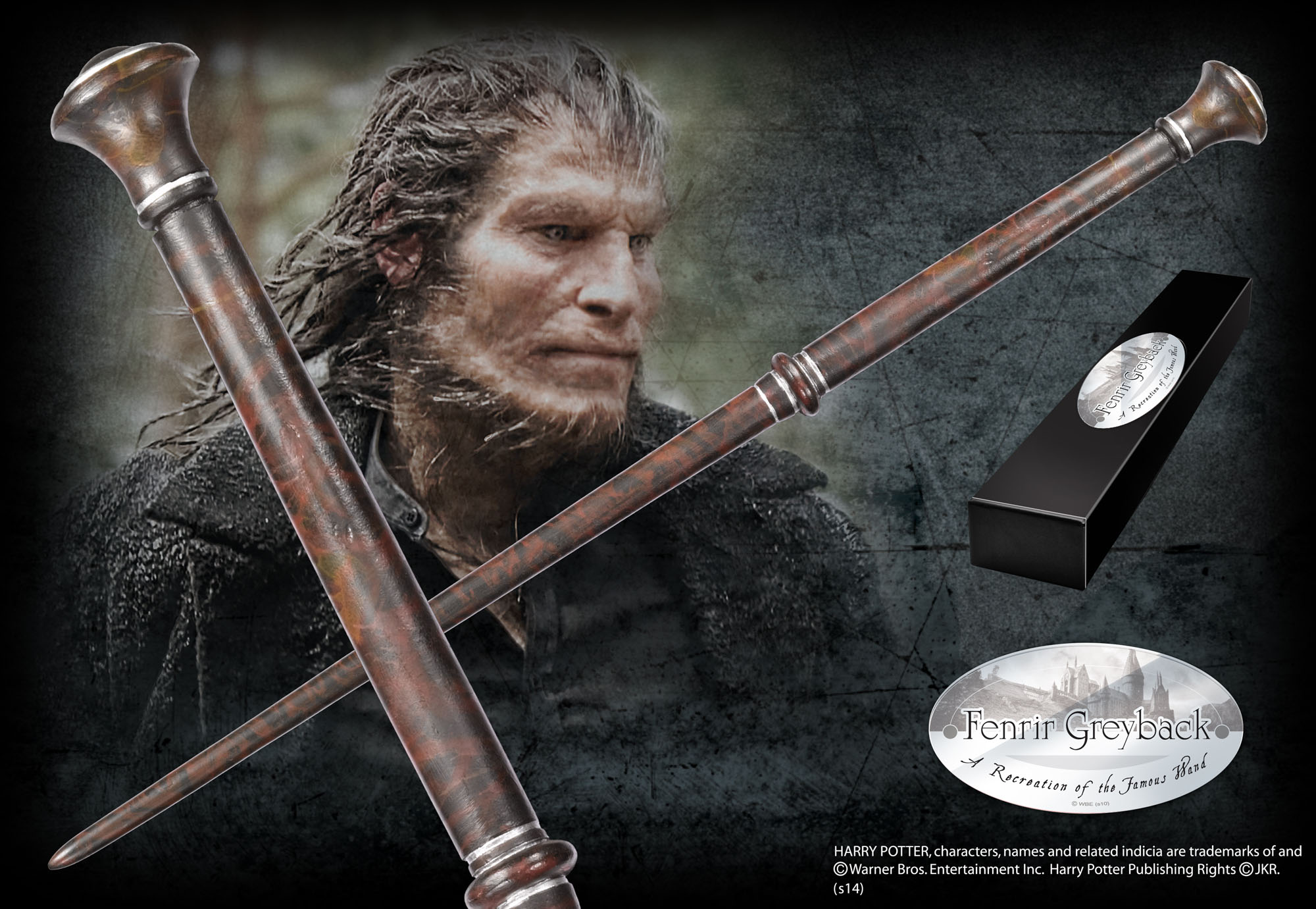 fenrir greyback character wand � the noble collection uk
