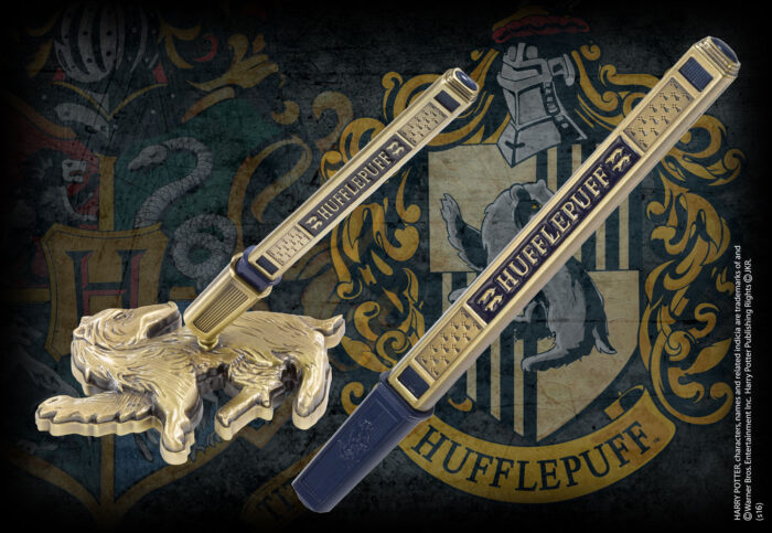 Hufflepuff House Pen and Desk Stand